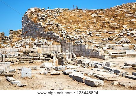 Archeology  In   Greece The   And   Ruin Site