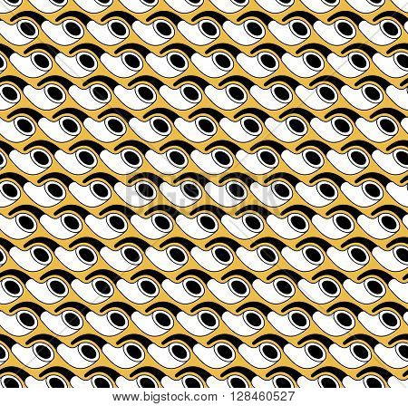 seamless pattern wooden smoking pipe vector illustration eps10