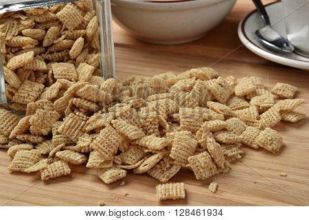 Spilled Breakfast Cereal