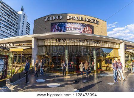 People At The Premiere Cinema Zoo Palast In Berlin