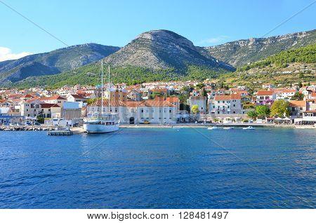 Coastal City In Croatia