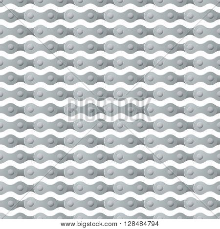bicycle chain seamless repeating pattern square composition