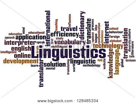 Linguistics, Word Cloud Concept 9