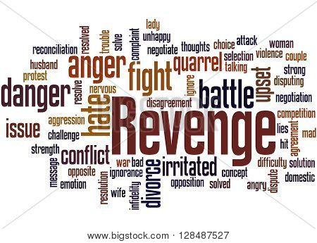 Revenge, Word Cloud Concept 3