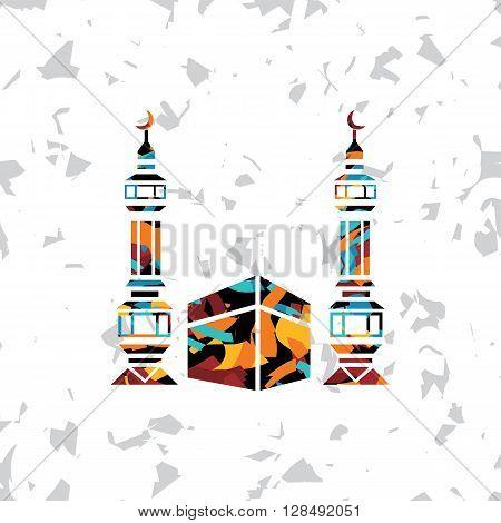 Islamic Abstract Calligraphy Art