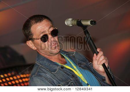 Russian pop star, singer  Grigory Leps