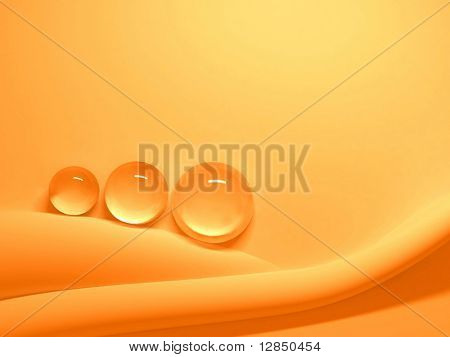 3D abstract orange background. For download all my pattern - search