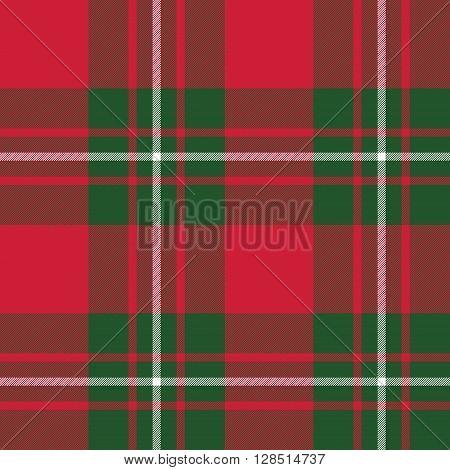 Macgregor tartan kilt fabric textile seamless pattern.Vector illustration. EPS 10. No transparency. No gradients.