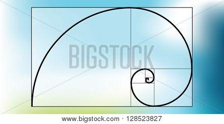 Golden ratio-proportion