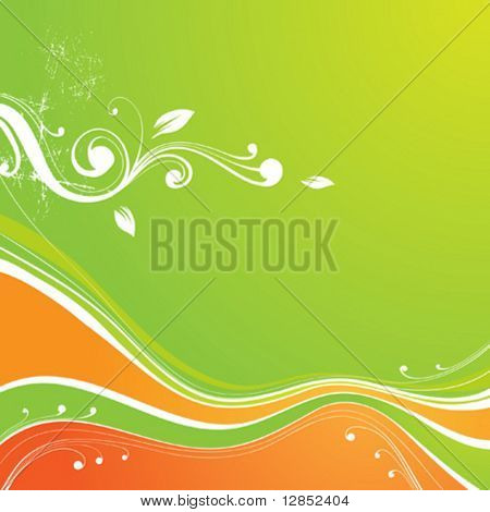 Abstract summer background for design.