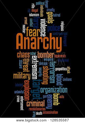 Anarchy, Word Cloud Concept 6