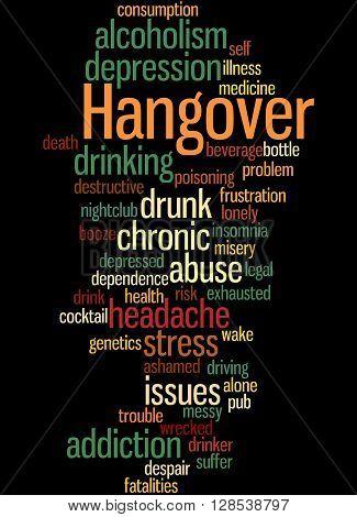 Hangover, Word Cloud Concept 4