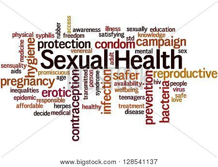 Sexual Health, Word Cloud Concept 8