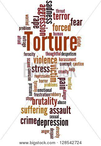 Torture, Word Cloud Concept 3