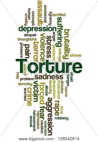 Torture, Word Cloud Concept 8