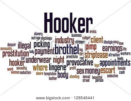 Hooker, Word Cloud Concept 3