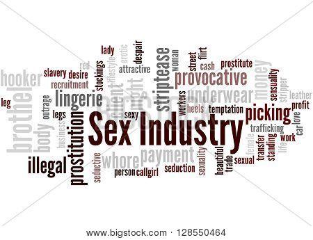 Sex Industry, Word Cloud Concept 6