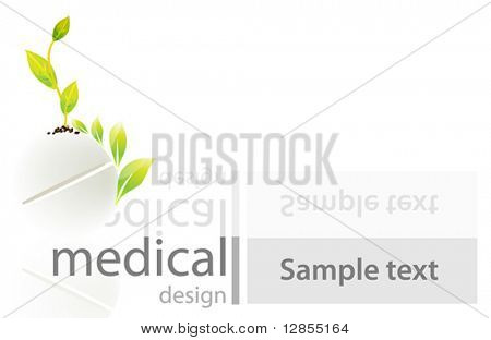 Vector illustration for medical design.