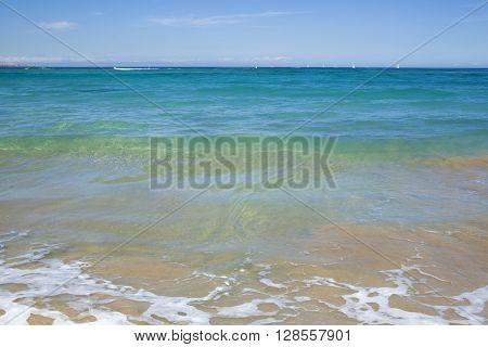 Las Palmas de Gran Canaria Las Canteras town beach
