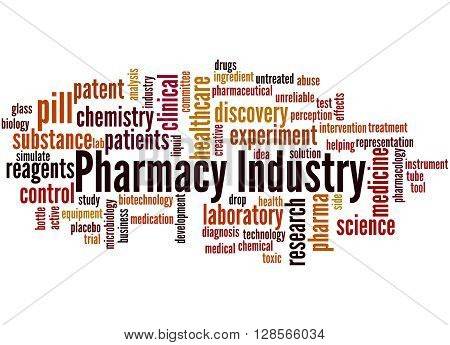 Pharmacy Industry, Word Cloud Concept 9