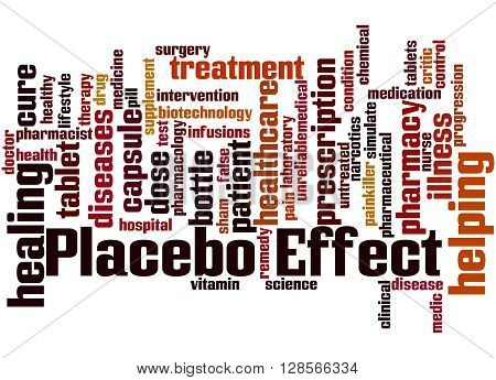 Placebo Effect, Word Cloud Concept 3