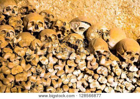 Ossuary In Naples