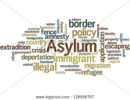 Asylum, Word Cloud Concept 4