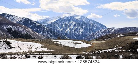 Wasatch Mountain Range, Views of the Wasatch Mountains of Utah