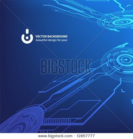 Techno background