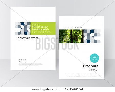 Cover design for Brochure, leaflet, flyer, poster template. stock-vector abstract background. EPS 10