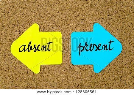Message Absent Versus Present
