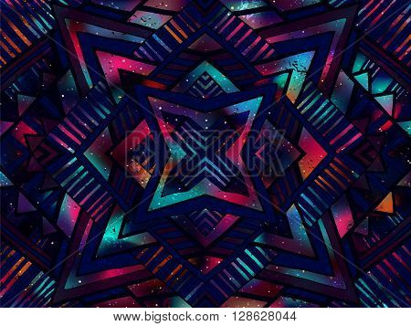 Background Abstract Ornament Night Sky Dark Colors 1