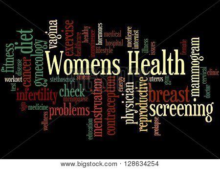 Womens Health, Word Cloud Concept 5