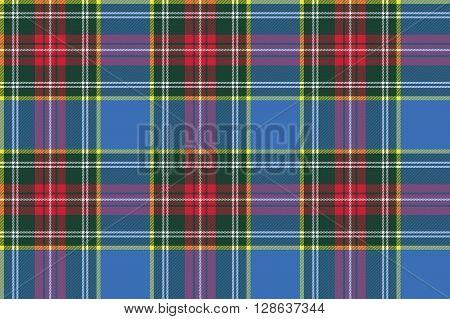 macbeth tartan kilt fabric textile check pattern seamless .Vector illustration. EPS 10. No transparency. No gradients.