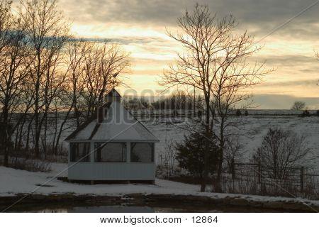 WinterSunset