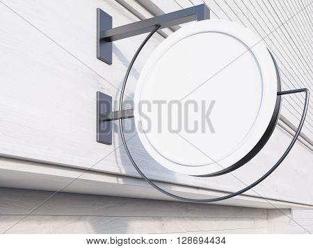 Stopper On Light Wooden Building