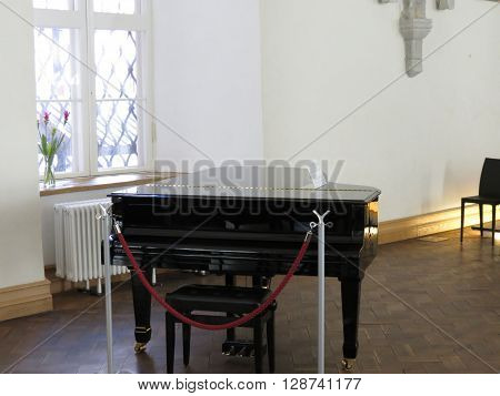 Parlour Grand Piano Stringed Instrument