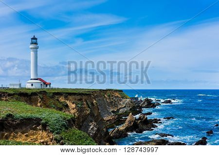 Point Arena Lighthouse in California