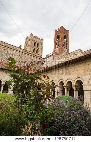 Cathedral Sainte Eulalie et Sainte Julie in Elne France