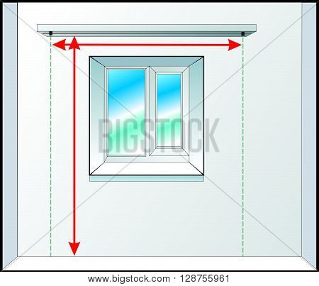 The window for the creators of curtains and windows