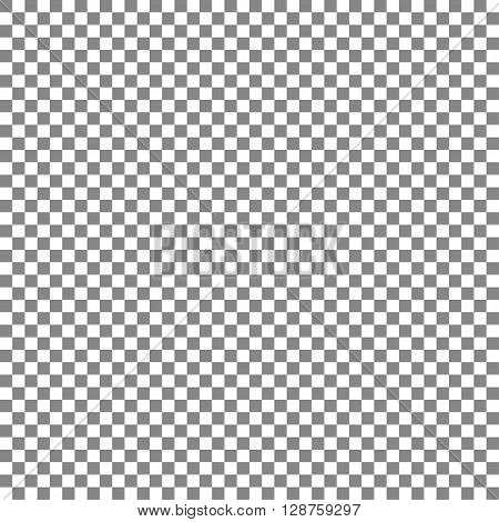 The gray and white squares in a checkerboard pattern vector