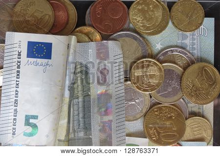 Mixed Currencies Background