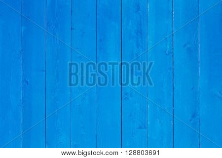 Background Texture Of Blue Stained Wood