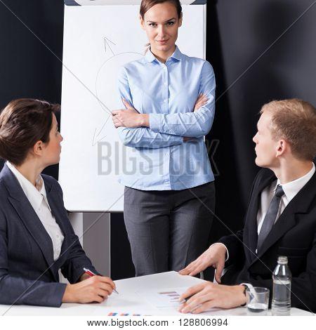 Bossy Businesswoman