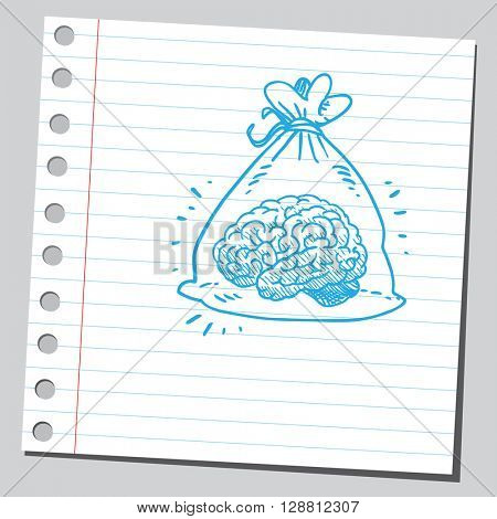 Brain in bag