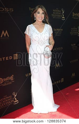 LOS ANGELES - May 1: Kate Linder at The 43rd Daytime Emmy Awards Gala at the Westin Bonaventure Hotel on May 1, 2016 in Los Angeles, California