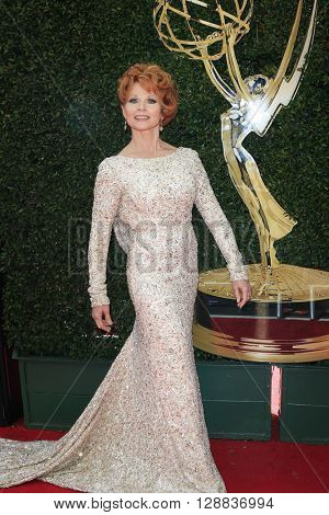 LOS ANGELES - May 1: Patsy Pease at The 43rd Daytime Emmy Awards Gala at the Westin Bonaventure Hotel on May 1, 2016 in Los Angeles, California