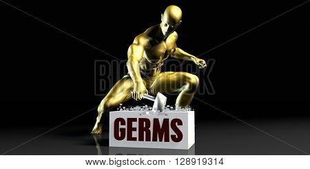 Eliminating Stopping or Reducing Germs as a Concept