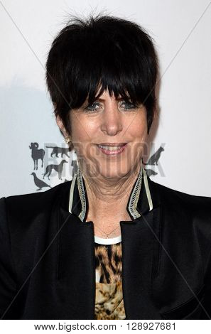 LOS ANGELES - MAY 7:  Diane Warren at the Humane Society Of The United States LA Gala at the Paramount Studios on May 7, 2016 in Los Angeles, CA