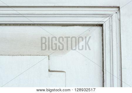 Close Up Of Old Wooden Door Vintage Tone